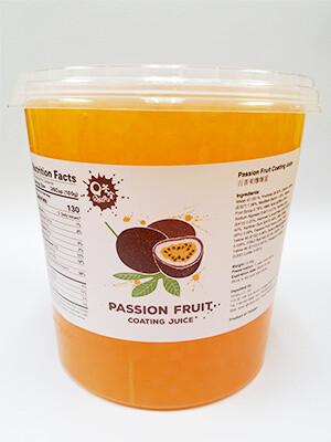 QBubble Popping Boba Passion Fruit 茶宝爆爆珠 波霸 百香果味(7.4LB)