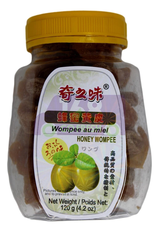 HONEY WOMPEE 奇之味 蜂蜜黄皮(120G)