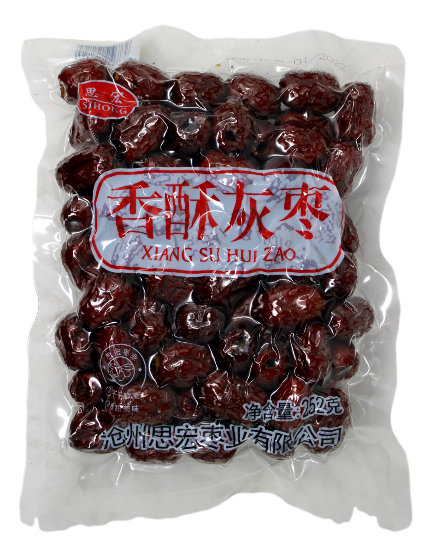 DRIED DATE 思宏 香酥灰枣(252G)