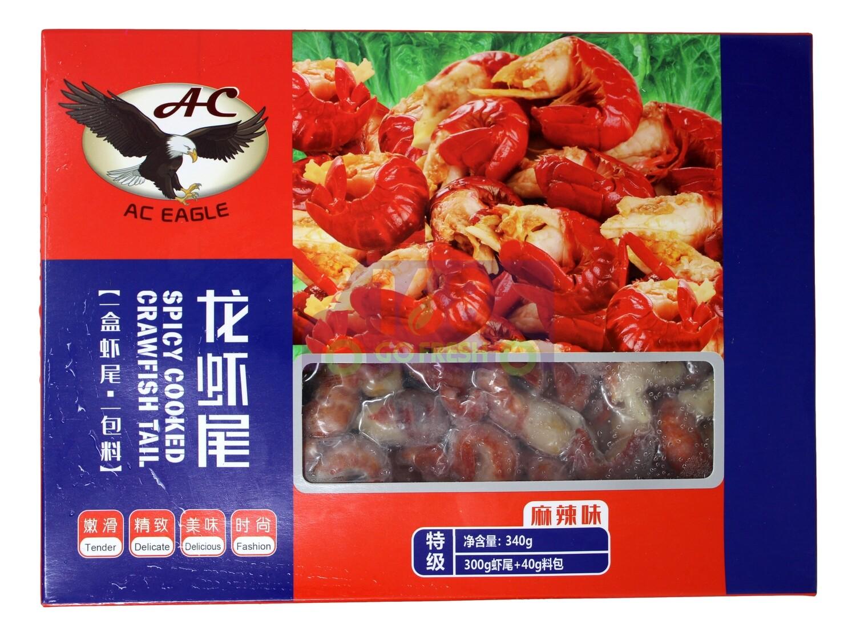 AC EAGLE CRAWFISH TAIL MEAT SPICY 鹰牌 麻辣小龙虾尾(340G)