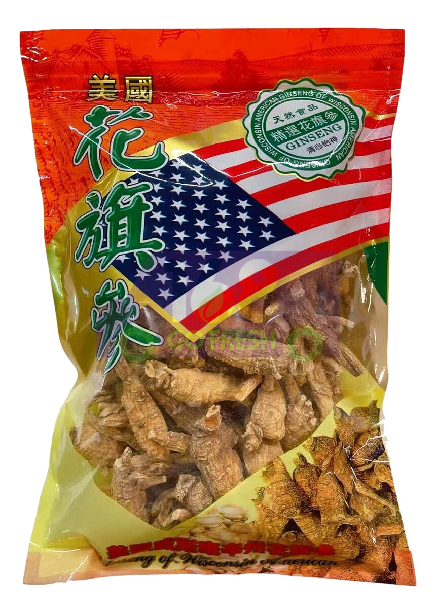 【ON SALE 热卖促销】American Ginseng AAA- Small 8oz美国AAA级长枝花旗参人参-小号 半磅装(原价$29.99)