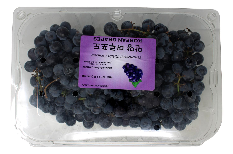 KYOHO Seeded Grapes  巨峰葡萄(4LB装)