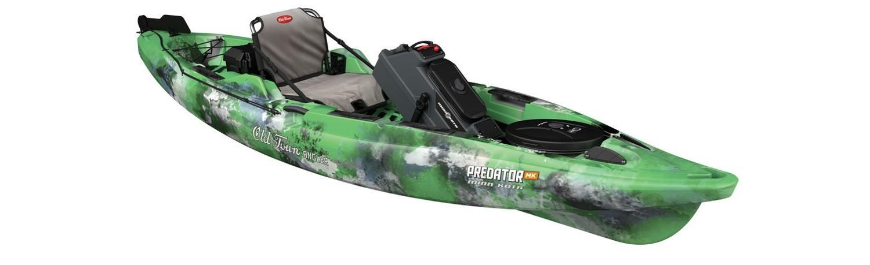 Old Town Predator XL Kayak with Minn-Kota Motor