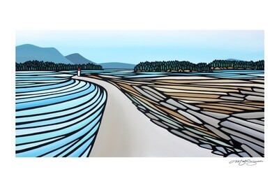 Giclee Print on Canvas- Sidney Spit