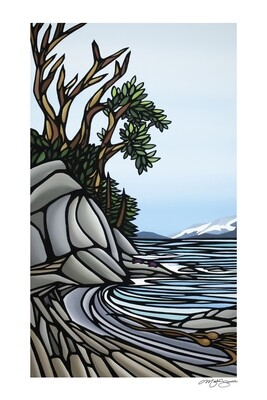 Giclee Print on Canvas- Pender Island