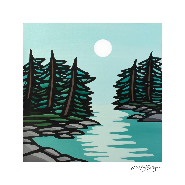 Giclee Print on Canvas- Moonlight
