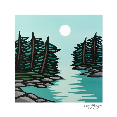 Giclee Print on Canvas- Moonlight