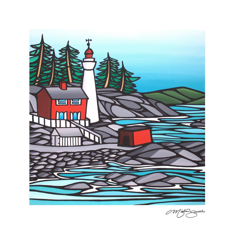 Art Print- Fisgard Lighthouse