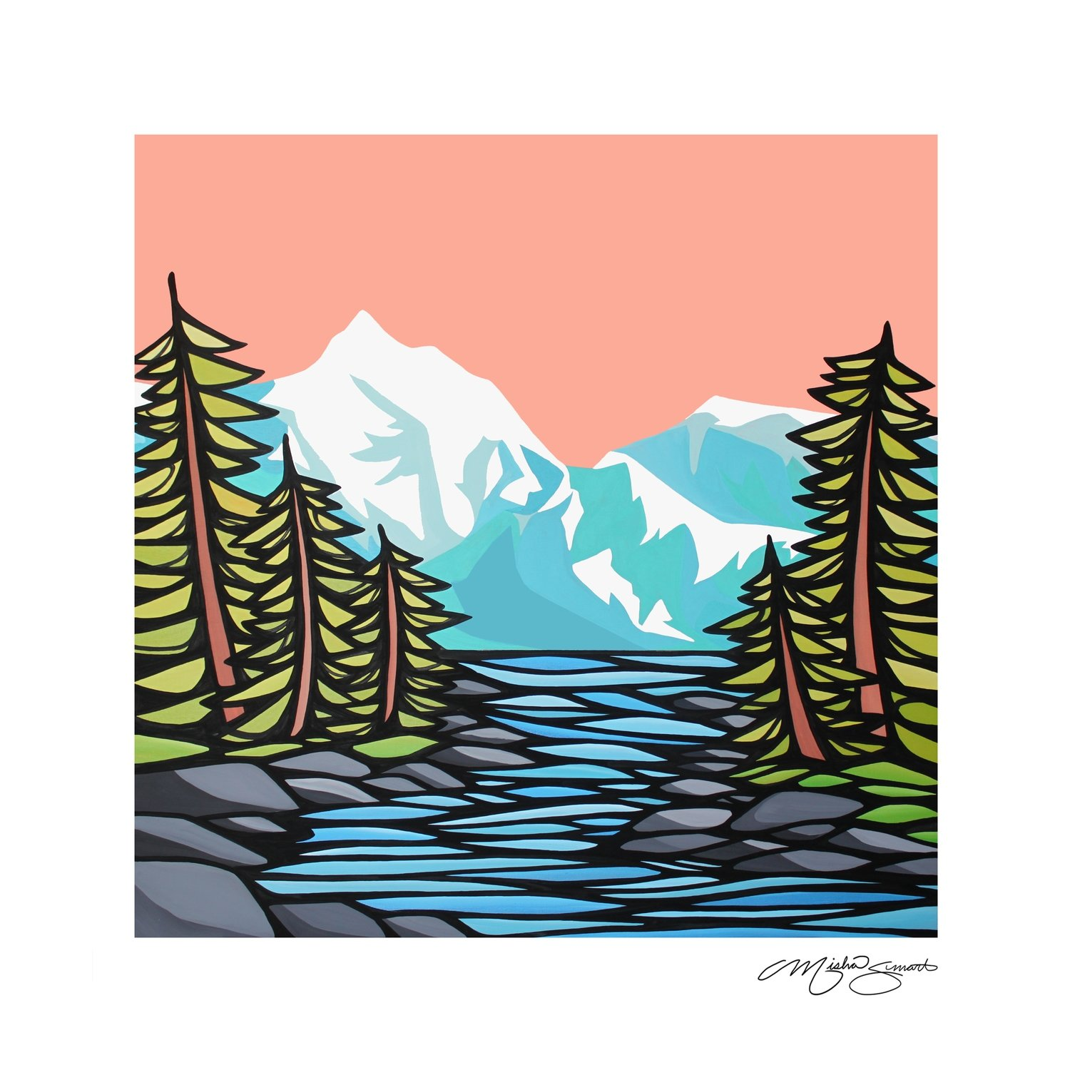 Giclee Print on Canvas- Inviting Skies
