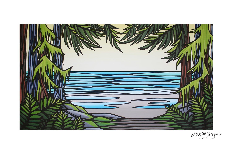 Giclee Print on Canvas- Hidden Gem