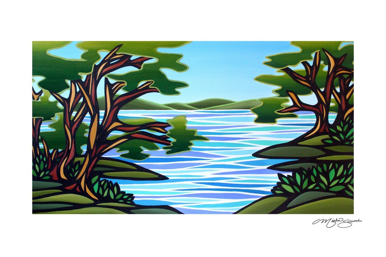 Giclee Print on Canvas- Arbutus Cove