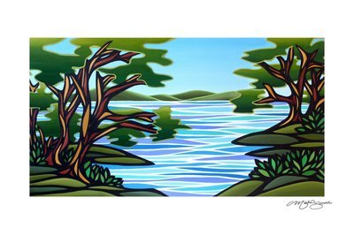 Giclee Print on Canvas- Arbutus Cove