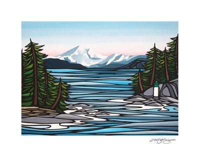 Giclee Print on Canvas- Mount Baker
