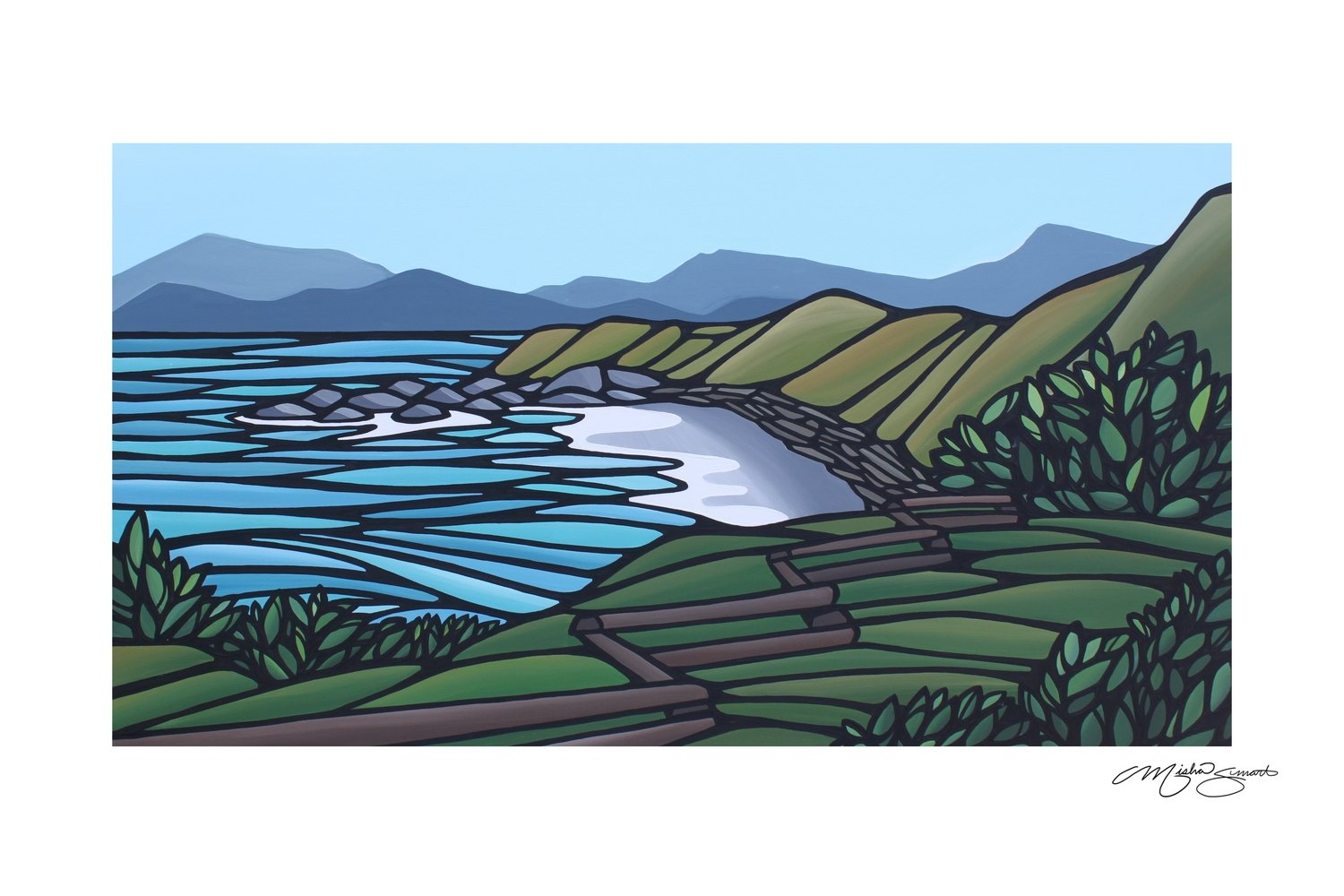 Giclee Print on Canvas- Finlayson Point