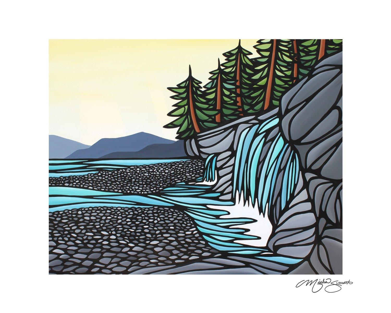 Giclee Print on Canvas- Sandcut