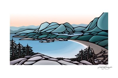 Giclee Print on Canvas- Cox Bay Lookout