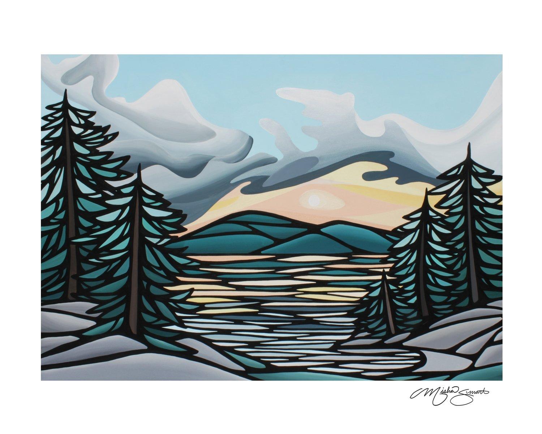 Giclee Print on Canvas- Autumn Evening