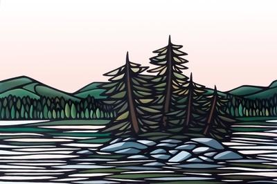 Original Art- On the Lake