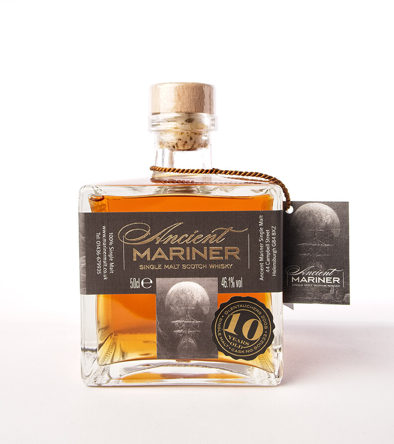 Ancient Mariner Glentauchers 10 year old Single Cask Single Malt Scotch Whisky