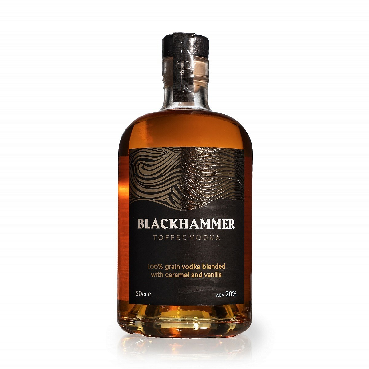 Blackhammer Toffee Vodka 50cl