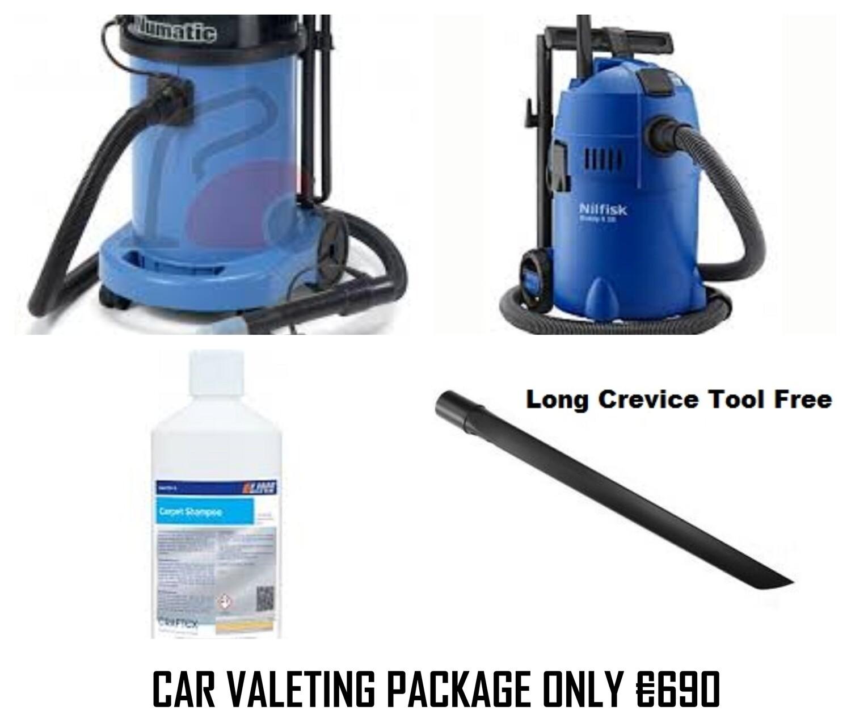 Numatic, Nilfisk Car Valeting Package,