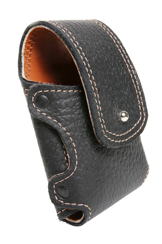 Graber (lambskin lined) leather phone holster