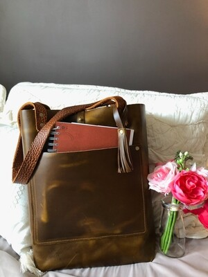 Bethany Leather Tote