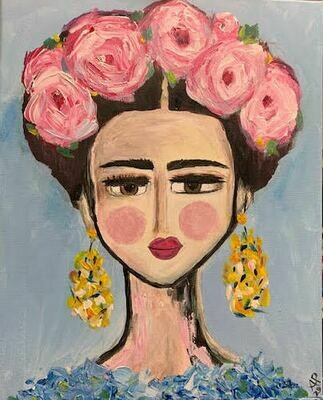 Frida - Virtual Class (no supplies)