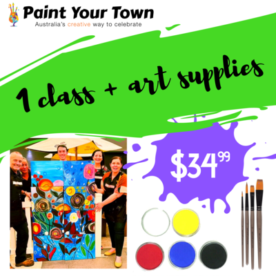 1 virtual paint pARTy + supplies for AXAXL 15th Oct 3pm