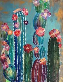 Cactus - Virtual Class (no supplies)