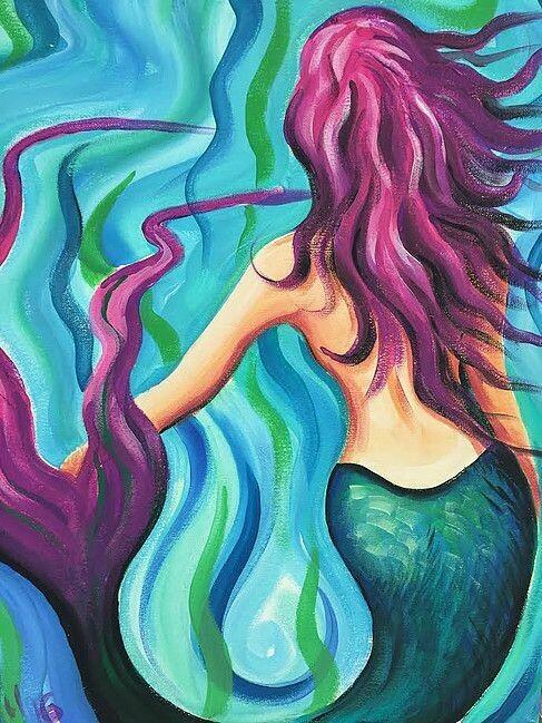 Mermaid - Virtual Class (no supplies)