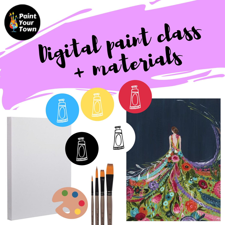 Fashion - Virtual class  + supplies
