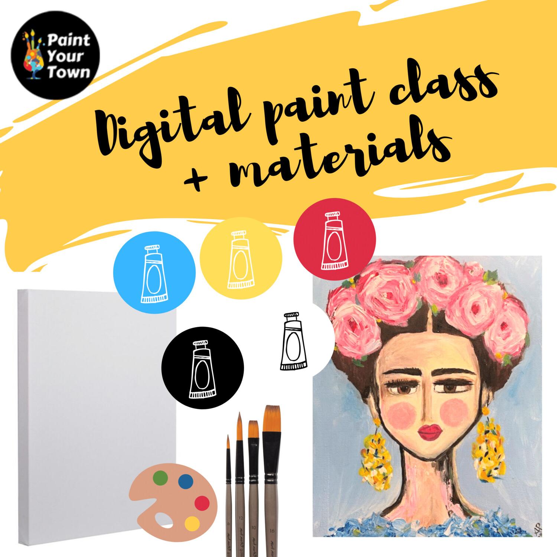 Frida - Virtual class  + supplies