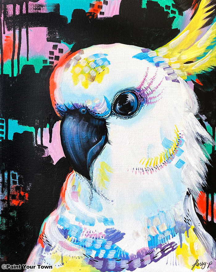 Paint pARTy at Taree Railway Institute, Wed. 2nd June 6pm