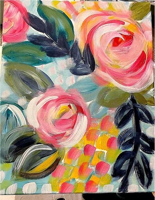 Paint pARTy at Lambton Park Hotel, Mon 2nd August, 6-8:30pm