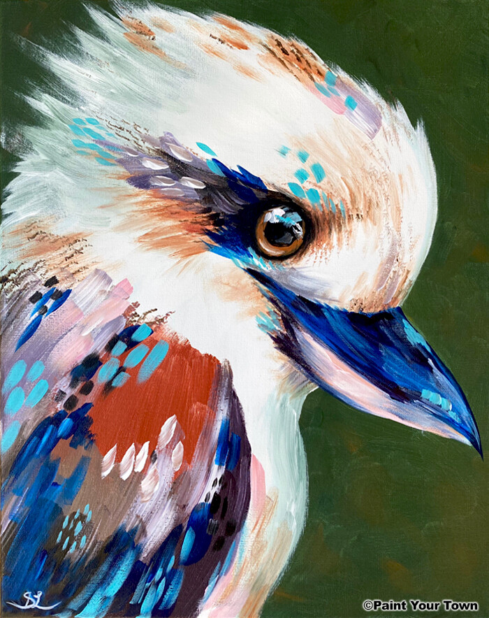 Paint pARTy at Taree Railway Institute, Wed. 4th August 6pm