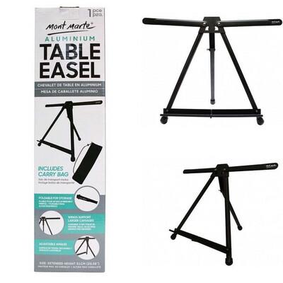 Metal table top easel