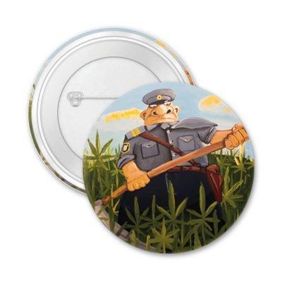 """Значок """"Уничтожение незаконных посевов конопли"""""""