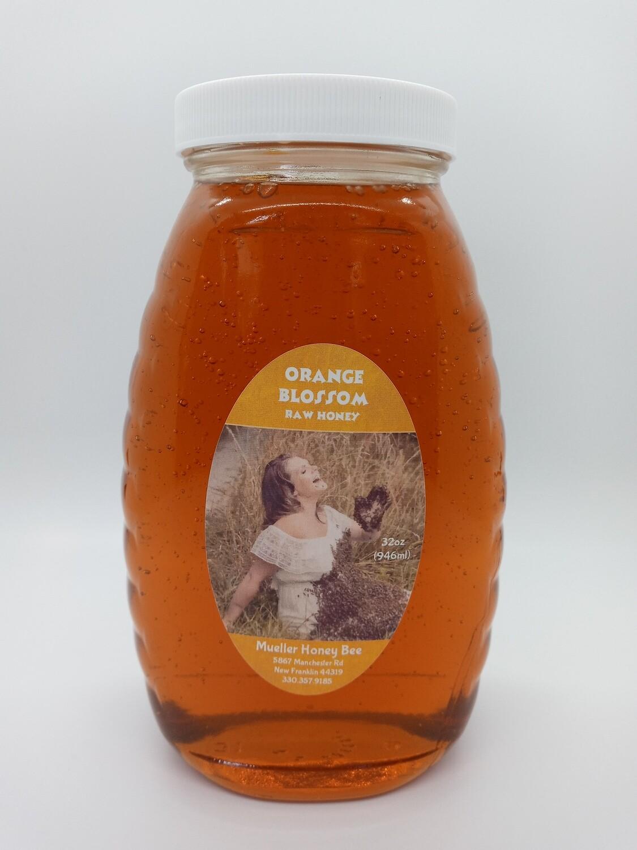 32 oz Orange Blossom Honey