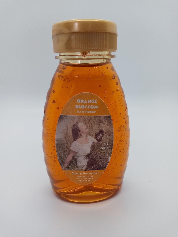 8 oz Orange Blossom Honey