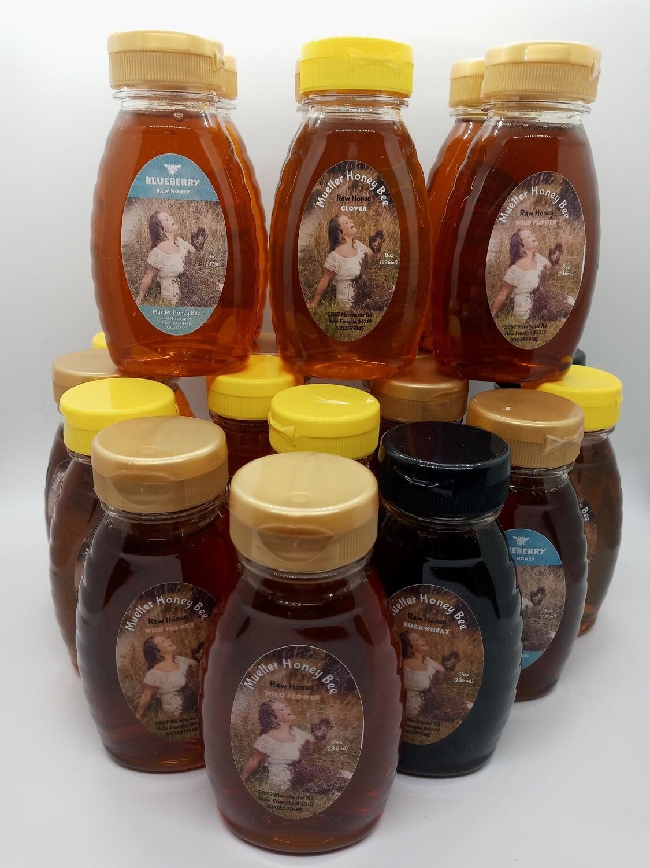 20 - 8 oz Varietal RAW Honey Set