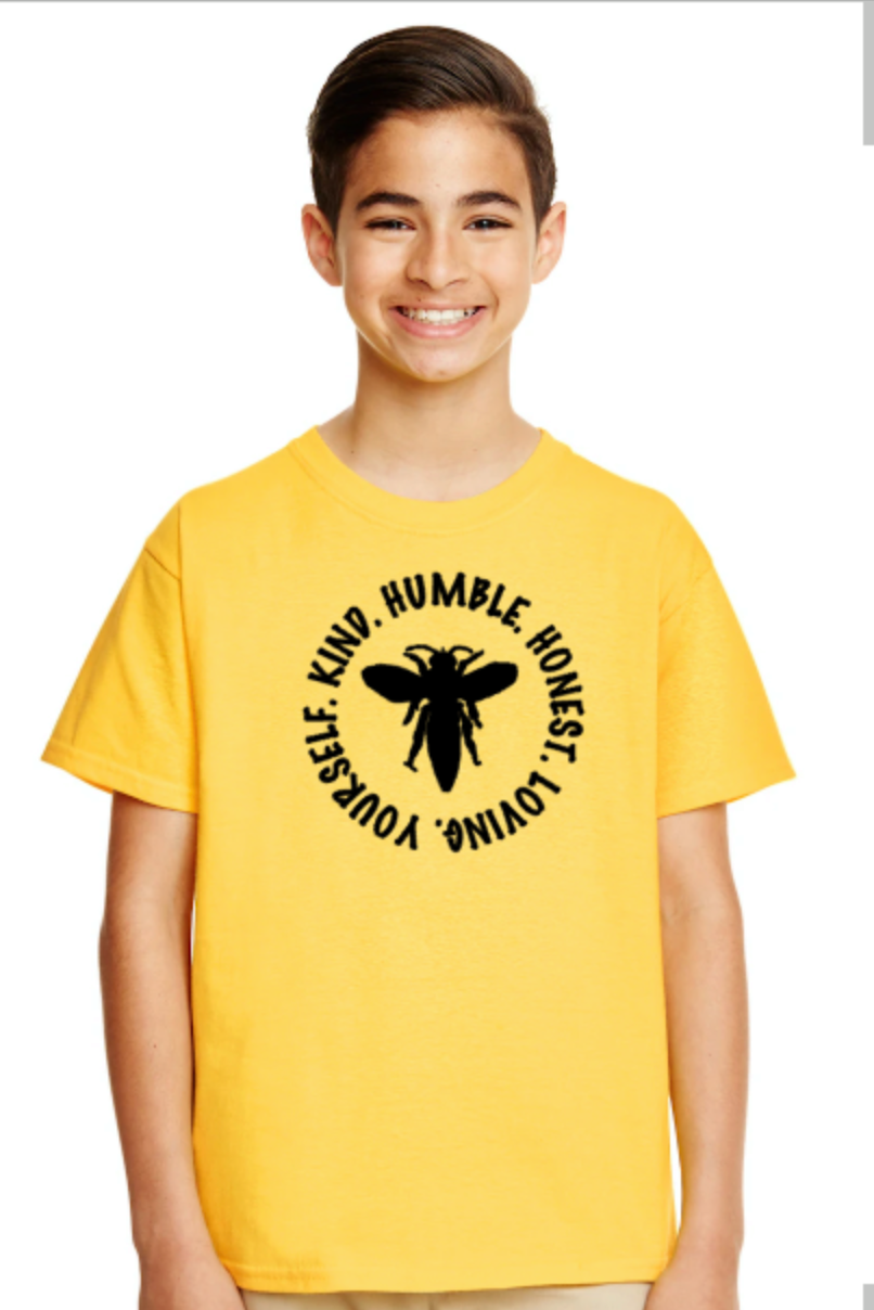 Bee Yourself Adult T-Shirt