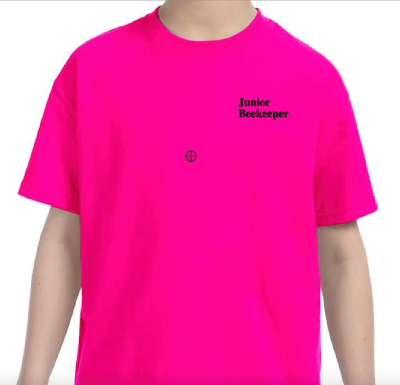 Junior Beekeeper Adult T-Shirt