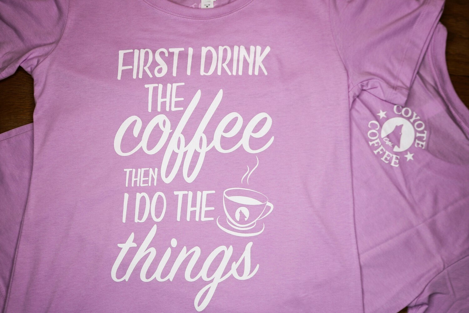 Lilac - First I Drink Coffee Then I do the Things