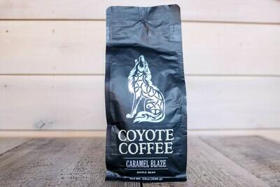 Coyote Coffee Caramel Blaze (Medium) 12oz Whole Bean