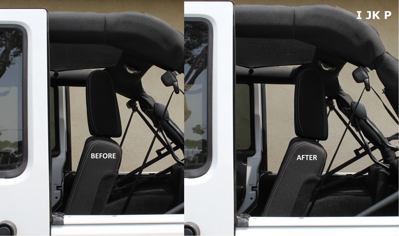 Rear Seat Recline Kit for Jeep JKU Wrangler (4-Door)