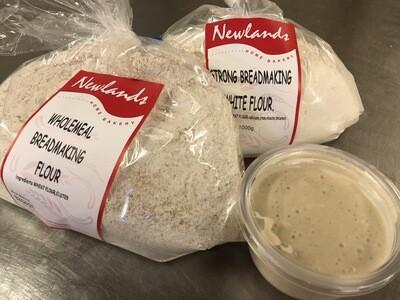 Sourdough Starter and Flour