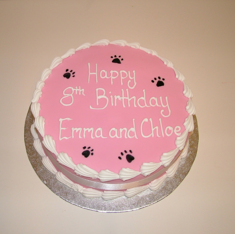 Round Celebration Cake