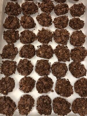 Chocolate Cornflake Cakes (2)