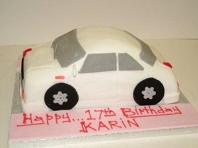 Car Shape Novelty Cake